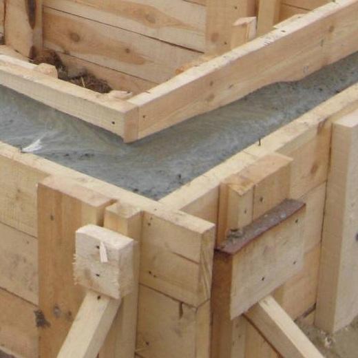 Заливка бетонных фундаментов